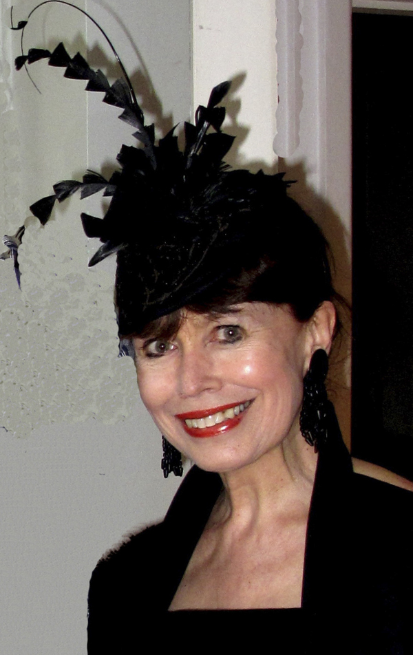 1940s hat by Sandie and Aimee