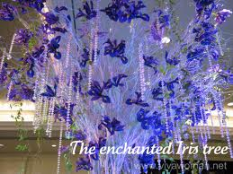 The Enchanted Iris Tree