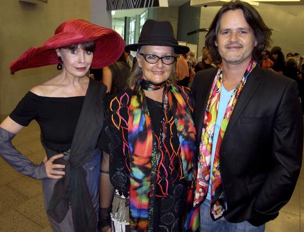Alison, Linda Jackson and Cristopher Graf