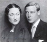 The Duke and Duchess of Windsor, in 1935.  The picture on which Edward wrote 'We are two'.