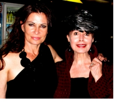 Jane Badler and Alison