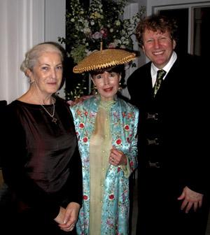Sue Hackett, Alison and Piers Lane