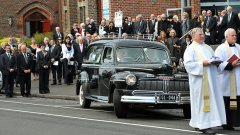 Sheila Scotter Funeral - Photo via The Age