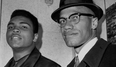 Cassius Marcellus Clay (Muhammad Ali) with Black Muslim lead